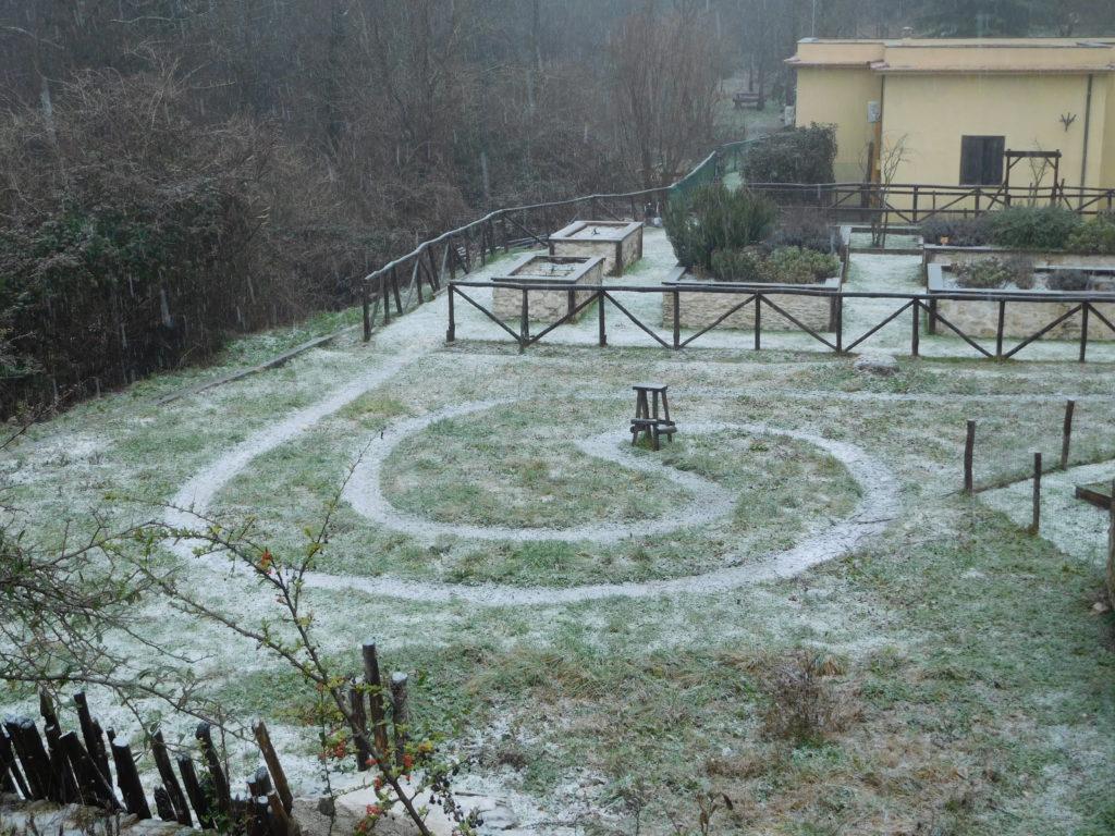Centro visita del Giardino dei Cinque Sensi
