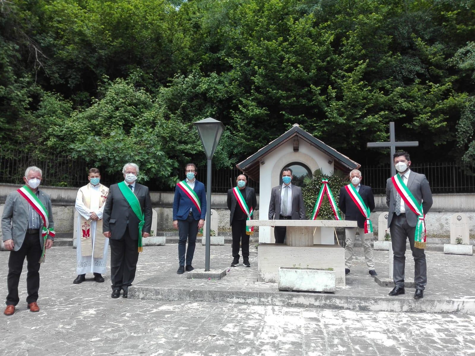 X Comunita' Montana dell' Aniene: a Madonna della Pace si ricordano i 15 Martiri del 1944.