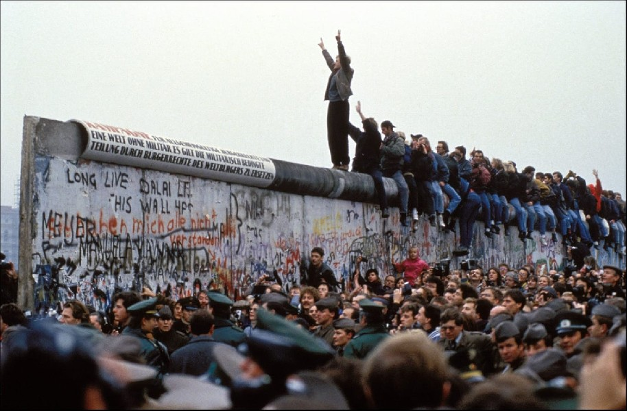 Per non dimenticare: 31 anni fa cadeva il Muro di Berlino