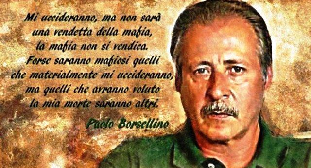 La strage di via D'Amelio, quel giorno di luglio in cui mori' Paolo Borsellino